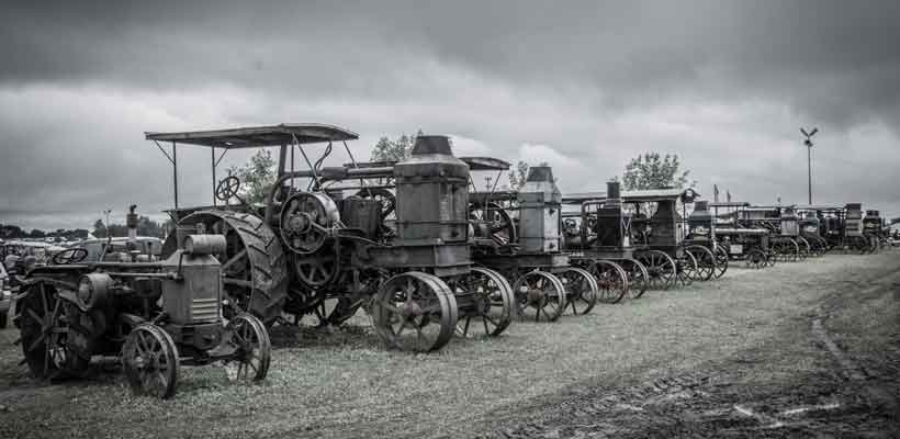 Gas Tractor Lineup